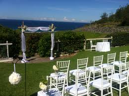 Outdoor Wedding Chair Decorations Outdoor Wedding Ceremony White Tiffany Chairs Kingedwardpark
