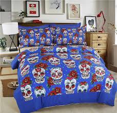 halloween comforter duvet cover my sugar skulls