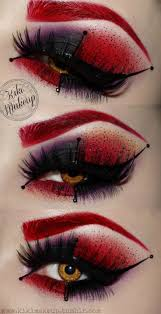 Diy Halloween Makeup Ideas Top 25 Best Red Queen Makeup Ideas On Pinterest Red Queen