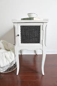 Upcycled Side Table Five Simple Tips To Paint Furniture Without Sanding Or Prep