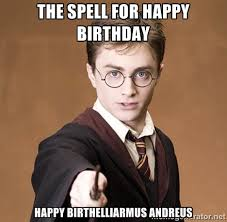 Harry Potter Birthday Meme - 6 magical harry potter facts you had no idea about