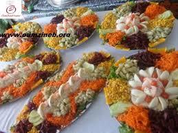 recette cuisine marocaine cuisine marocaine salade variee paperblog