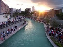 canap de sol puesta de sol en el canal picture of paseo de santa lucia