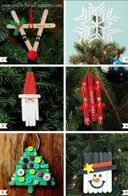 christmas craft creations from pop cycle sticks crafts