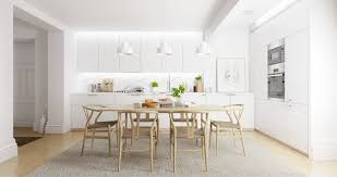 White Wooden Dining Table And Chairs 25 Inspirational Ideas For White And Wood Dining Rooms