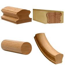 Stair Banister Parts Stair Parts Wood Railings Balusters Newels Stairs