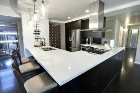 Modern Pendant Lights For Kitchen Island Modern Kitchen Island With Table Attached Contemporary Pendant