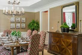 Neutral Dining Rooms 2017 Grasscloth Wallpaper Boston Schumacher Grasscloth Wallpaper Dining Room Traditional