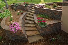 stone garden walls river bend u2013 kansas city u0027s decorative rock
