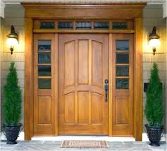 How To Install An Exterior Door Frame Replacing Front Door Frame Designs For Houses In Options How To