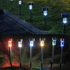 Spotlight Landscape Lighting Solar Powered Landscape Sensor Lights Xeroly