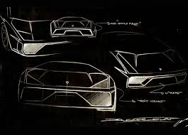 sketch of lamborghini gallardo lamborghini may produce v8 supercar autoevolution