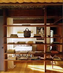 furniture excellent brown wooden bookshelf as room divider design