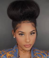 hair bun 7 easy jumbo bun styles for hair curlynikki