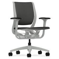 Desk Chair Back Hon Rw101ptcu19 Purpose Mid Back Task Chair W Adj Arm Fabric Iron