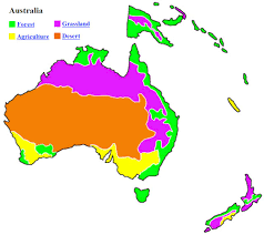 biomes map biomes of australia map map