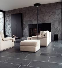 livingroom tiles black limestone floor tiles ideas for contemporary living room