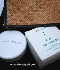 Bedak Tabur Wardah Anti Acne review wardah acne powder innnayah