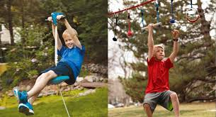 Building A Zip Line In Your Backyard by Zip Line Slides U0026 Nets To Turn Your Backyard Into An Obstacle
