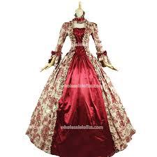 vire costumes for best seller vintage print dress 18th century antoinette dress