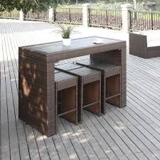 Outdoor Bar Table Set Best 25 Outdoor Patio Bar Sets Ideas On Pinterest Outdoor Bar
