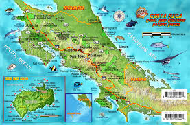 Cabo Map Franko Maps Costa Rica Pacific Reef Species