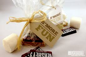 smores wedding favors free printables s more favors a rustic chic real wedding