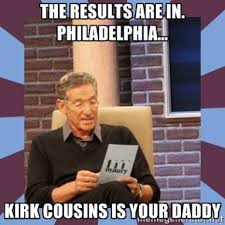 Funny Washington Redskins Memes - 25 best memes of kirk cousins the washington redskins making the
