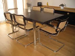 marcel breuer dining table black leather breuer cesca chairs google search thonet marcel