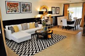 all white living room black fiberglass sweevel minimalist standing