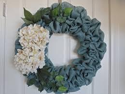 burlap wreath turquoise burlap wreath blue wreath door wreath