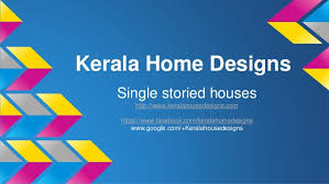 kerala home design facebook kerala home design single storied houses