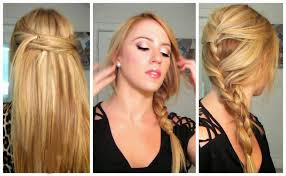 quick and easy hairstyles for long hair straight hair hairstyle