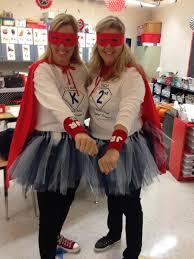 november news superhero teacher and costumes