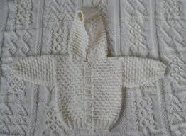 knitting pattern baby sweater chunky yarn double knit hoody for a newborn baby is it a bit too bulky