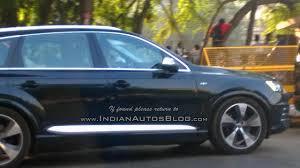 lexus india mumbai 435 hp audi sq7 tdi spotted testing in india