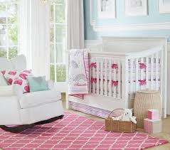 Pottery Barn Nursery Rugs by Rug Bright Pink