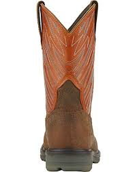 ariat men u0027s maverick western work boot wide square safety toe