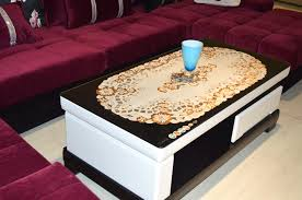 Coffee Table Cover Various Tremendeous Crochet Pattern Square Coffee Table