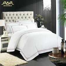 Silk Duvet Set White Duvet Cover Set Nz Romorus Designer 100 Cotton Embroidered