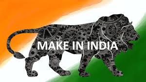 Lion Flag Make In India Logo Flag Brand Lion Symbol Mechanical Wallpaper