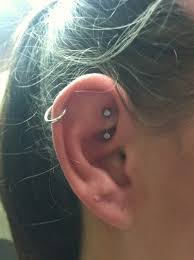 hoop cartilage piercing cartilage piercing hoop and rook piercing golfian