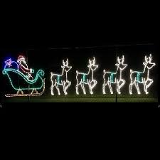 Commercial Reindeer Christmas Decorations by Giant Decor Commercial Displays Christmastopia Com