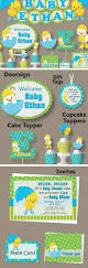 54 best rubber duck party images on pinterest ducky baby showers duck baby shower or first birthday party decorations invitation banner blue green