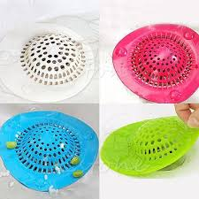 bathroom sink hair catcher silicone bath kitchen waste sink strainer filter net drain hair