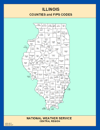 Illinois Map With Counties by Maps Illinois Counties And Fips Codes