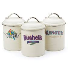 kitchen canister sets australia australian heritage icons biscuit tin set 3pce s of