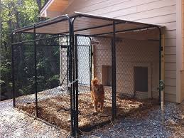 house plans attached dog run the k9kennel series the new