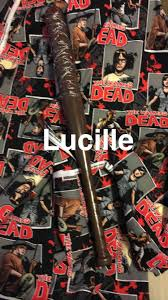 i made this lucille bat from the dollar tree i used paint for the