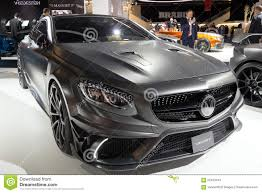 mansory mercedes mansory mercedes s class coupe amg s63 editorial stock image